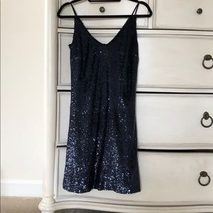 W by Worth short sequin cocktail dress